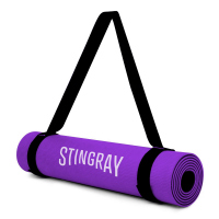 Tapete STINGRAY para yoga 10mm con correa de cargo