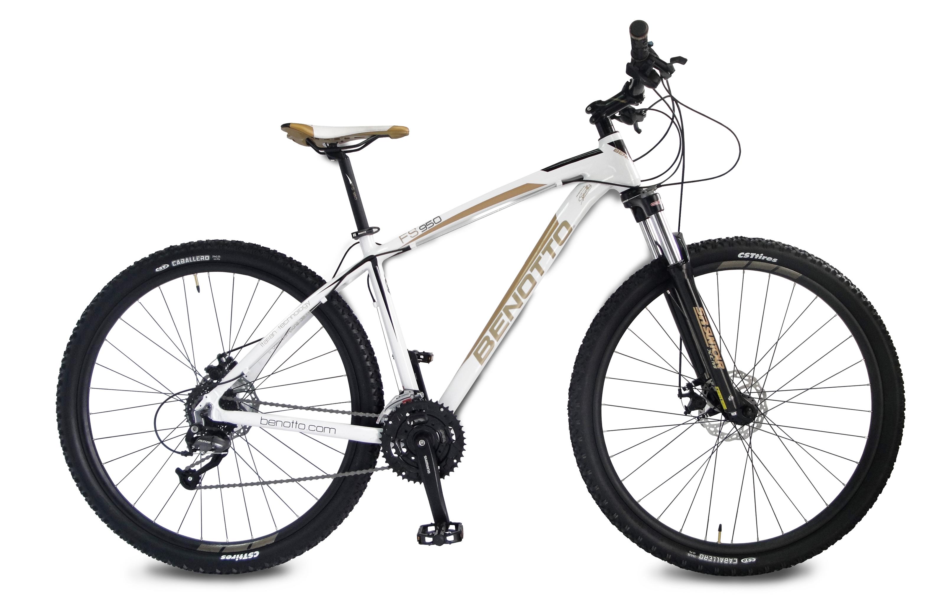 Bicicleta BENOTTO Montaña FS-950 R29 27V. Shimano Altus Frenos Doble ...