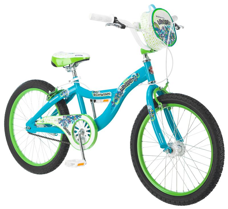 Bicicleta Schwinn Whisper Acero R20 1V Niña Aqua UN - Benotto México