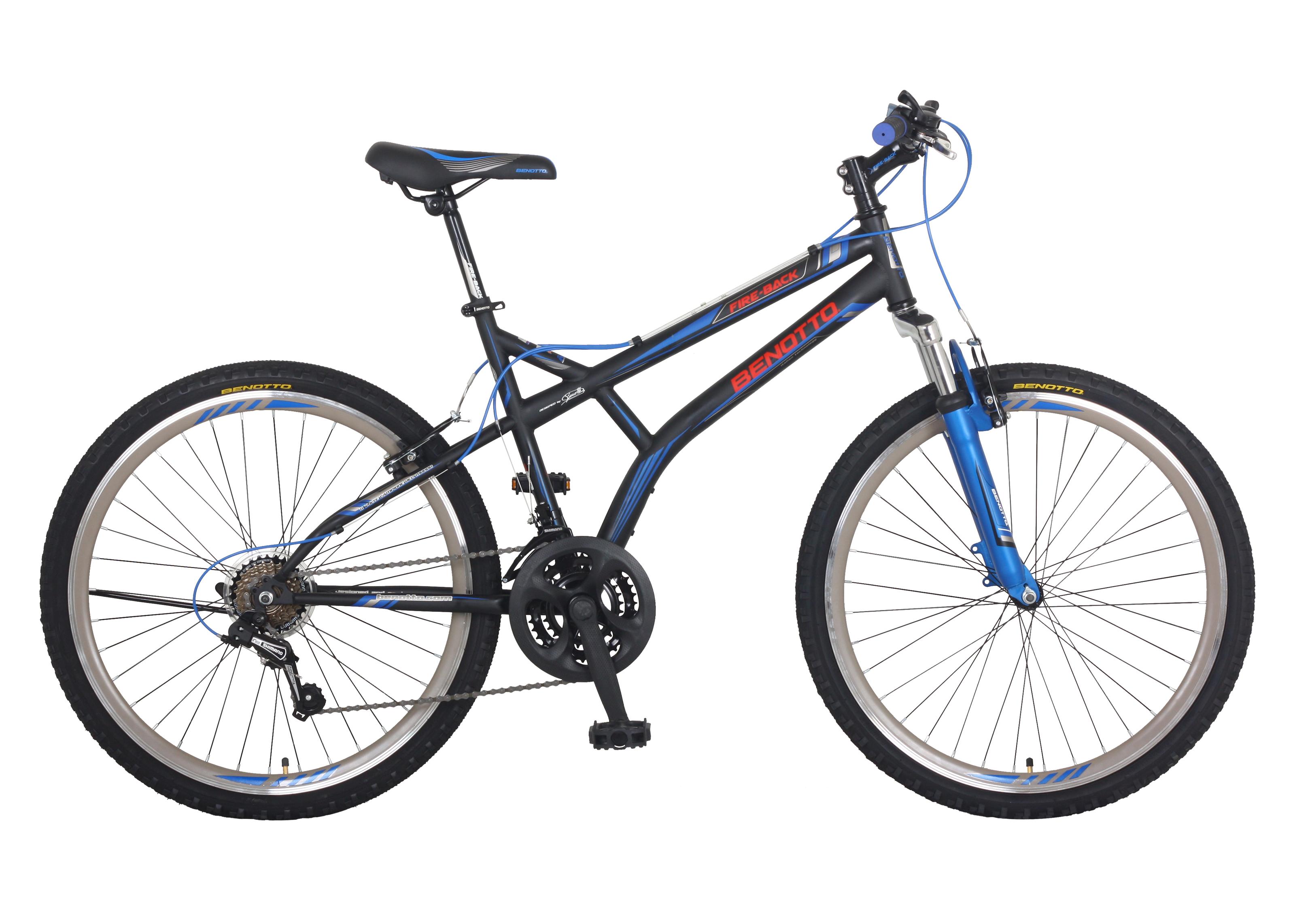 Bicicleta BENOTTO Montaña FIRE BACK R26 21V. Montaña Hombre FS ...