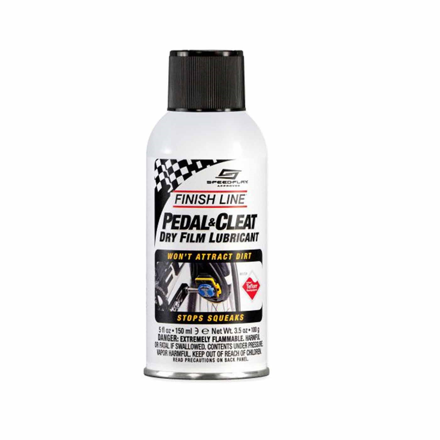 Lubricante FINISH LINE PEDAL&CLEAT para Pedales y Placas 5oz/148mL Spray PCL050101