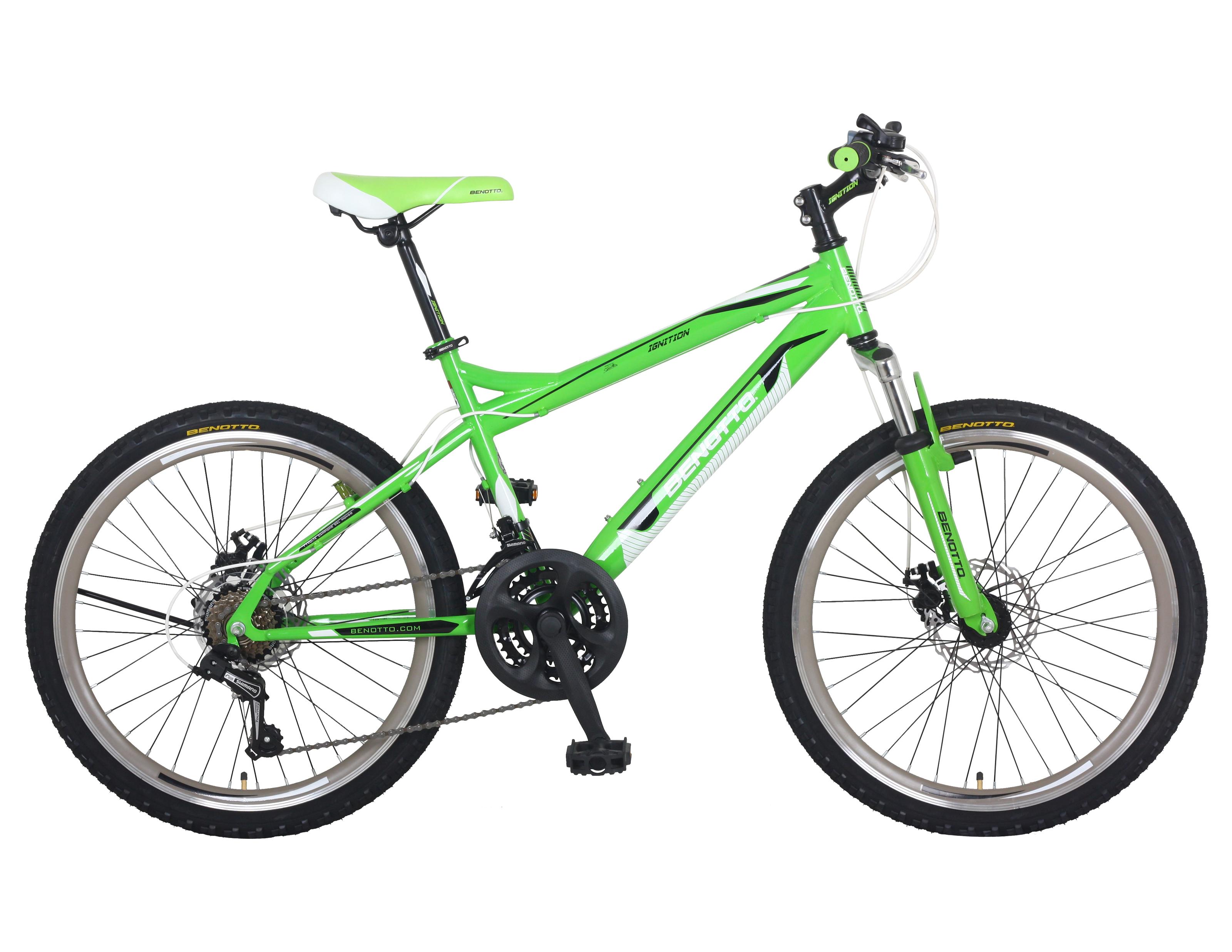 Bicicleta BENOTTO Montaña IGNITION R24 21V. Hombre FS Frenos Doble ...