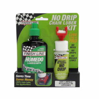 Aplicador con Lubricante FINISH LINE NO DRIP WET para Cadena 4oz/120mL NDW040101