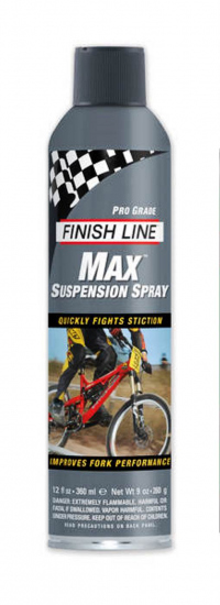 Lubricante FINISH LINE MAX para Tijera de Suspension 9oz/266mL SK0090101