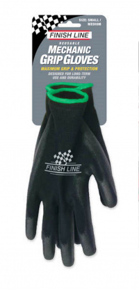 Guantes FINISH LINE MECHANIC GRIP para Mecanico Talla:S/M MGS000101
