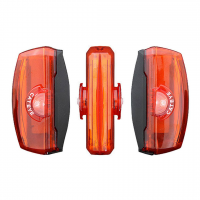 Luz CAT EYE Trasera TL-LD720-R Flashing RAPID X3 100lm USB Recargable