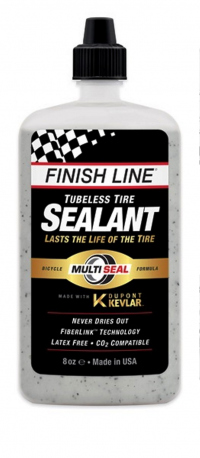 Sellador FINISH LINE para llanta Tubeless Dupont Kevlar 8oz/240mL TS0084801
