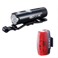 Luz CAT EYE Combo EL051/LD620 VOLT100XC Y RAPID MICRO USB Recargable