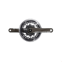 Multiplicacion SRAM Ruta RED AXS POWER 50X37D 172.5 Carbon 2x D1 DUB sin-BB Negro 00.3018.206.172