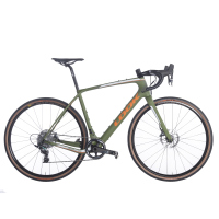 Bicicleta LOOK Ruta 765 GRAVEL RS R700 1x11 SRAM Force Allroad Disc CL Fibra de Carbono Verde Talla:MM (00020171)